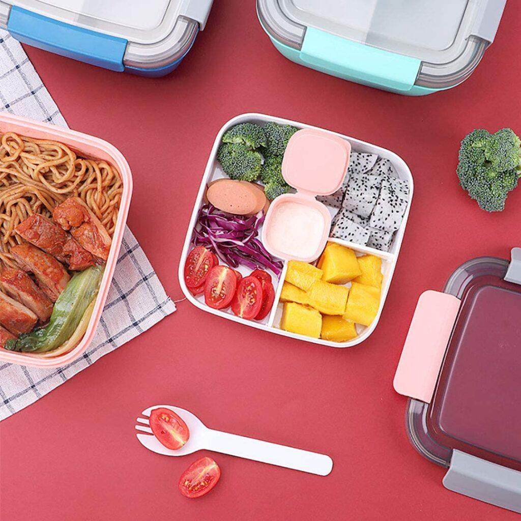 lunch box compartimentée